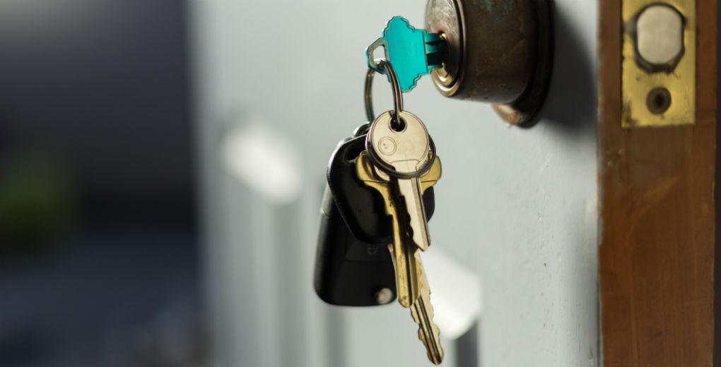 Keys in door for Find Insurance NI blog