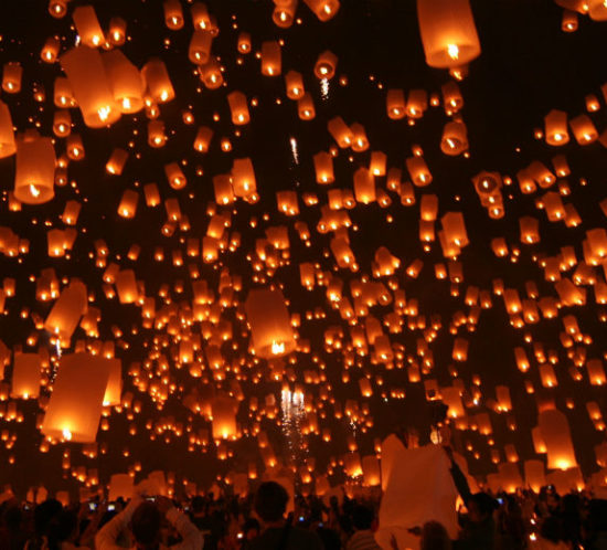 Sky Lantern Light Festival for Find Insurance NI blog